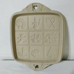 Hill Design 1992 Brown Bag Cookie Mold Square